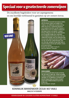 Advertentie 'Cecilia 1837'-wijn Zomer 2021 (NL)