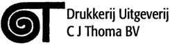 Advertentie Drukkerij Uitgeverij C J Thoma BV