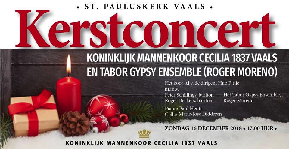 Advertentie Weihnachtskonzert 2018 2e (DE)